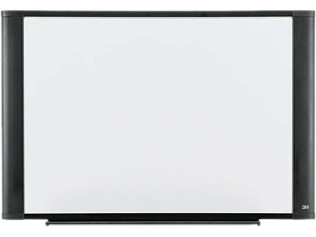 3M M4836G Melamine Dry Erase Board, 48 x 36, Graphite Frame