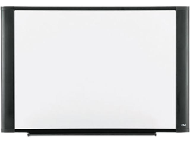 3M M7248G Melamine Dry Erase Board, 72 x 48, Graphite Frame