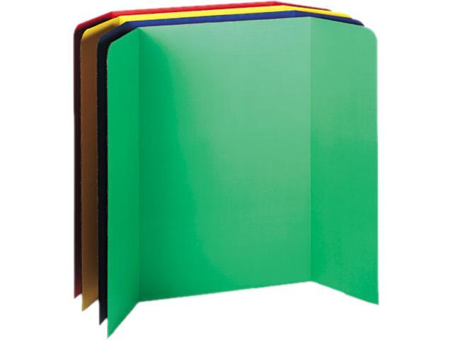 Pacon 37654 Spotlight Corrugated Presentation Display Boards, 48 x 36, Assorted, 4/Carton