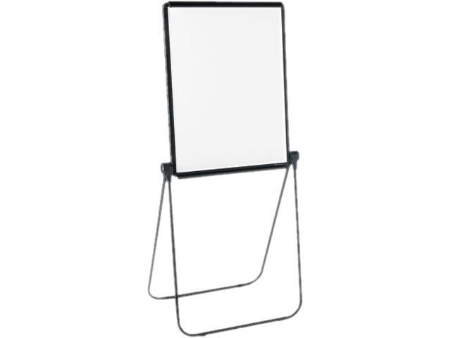 Quartet 101EL Ultima Presentation Dry Erase Easel, Melamine, 27 x 34, White, Black Frame