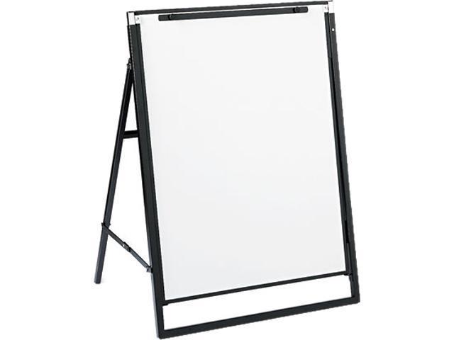 Quartet 351900 Futura Dry Erase Presentation Easel, Melamine, 24 x 36, White, Black Frame