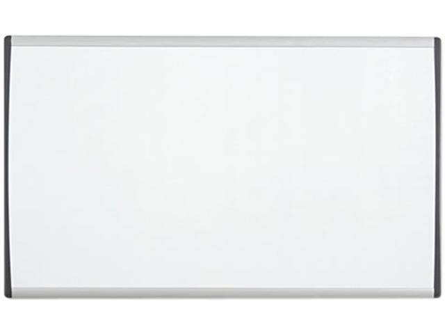 Quartet ARC2414 Magnetic Dry Erase Board, Painted Steel, 14 x 24, White/Aluminum Frame