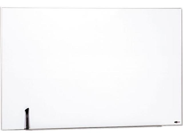 Quartet M4831 Magnetic Dry Erase Board, Painted Steel, 48 x 31, White, Aluminum Frame
