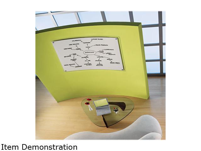 Quartet TM4929 iQTotal Erase Board, 49 x 32, White, Translucent Frame
