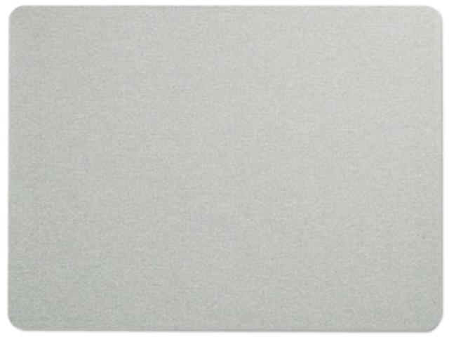 Quartet 7684G Oval Office Fabric Bulletin Board, 48 x 36, Gray