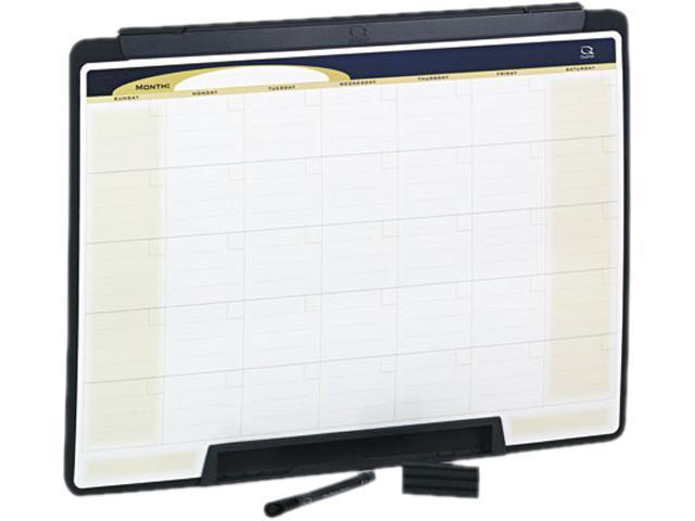 Quartet MMC25 Motion Portable Monthly Calendar, Dry Erase, 24 x 18