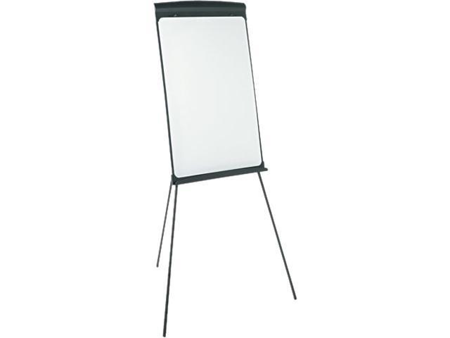 Quartet T67E Magnetic Dry Erase Easel, 27 x 35, White Surface, Graphite Frame