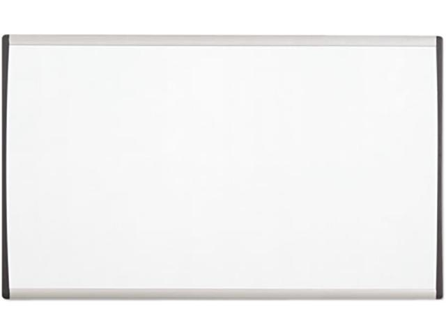 Quartet ARC3018 Magnetic Dry Erase Board, Painted Steel, 18 x 30, White/Aluminum Frame