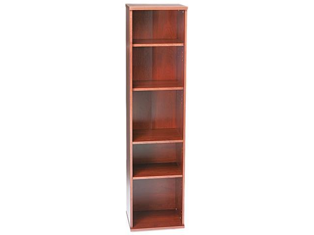 Bush Furniture Series C Open Single Bookcase, 5 Shelves, 17-7/8w x 15-3/8d x 72-7/8h, MCY