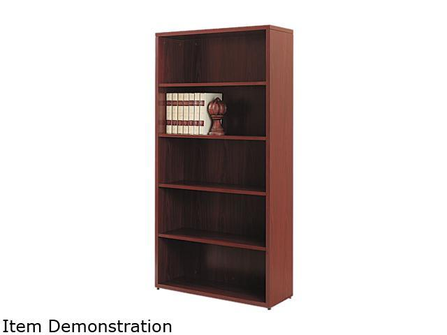 HON 105535NN 10500 Series Bookcase, 5 Shelves, 36w x 13-1/8d x 71h, Mahogany