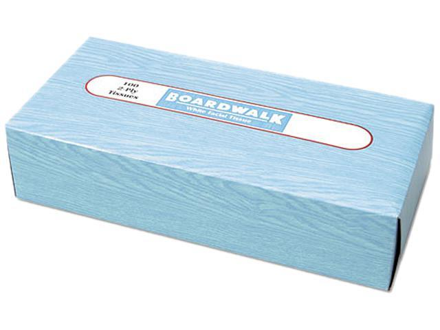 Boardwalk 6500 Facial Tissue, Flat Box, 100 Sheets/Box, 30 Boxes/Carton