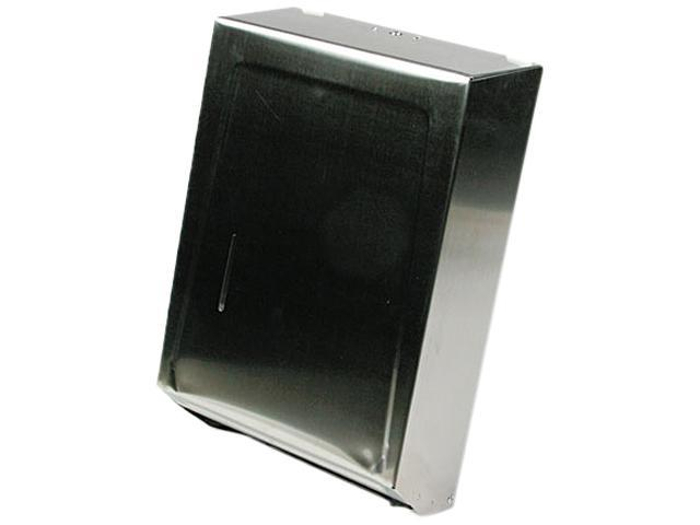 Ex-Cell 242SS C-Fold or Multifold Towel Dispenser, 11 1/4 x 4 x 15 1/2, Stainless Steel