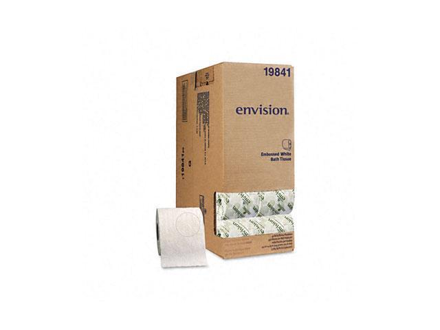 Georgia Pacific 1984101 Envision Embossed Bathroom Tissue, 40 Rolls/Carton