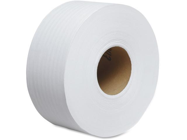 "KIMBERLY-CLARK PROFESSIONAL* 02129 SCOTT Jumbo Roll Bathroom Tissue, 2-Ply, 9"" dia, 1000 ft, 12 Rolls/Carton"