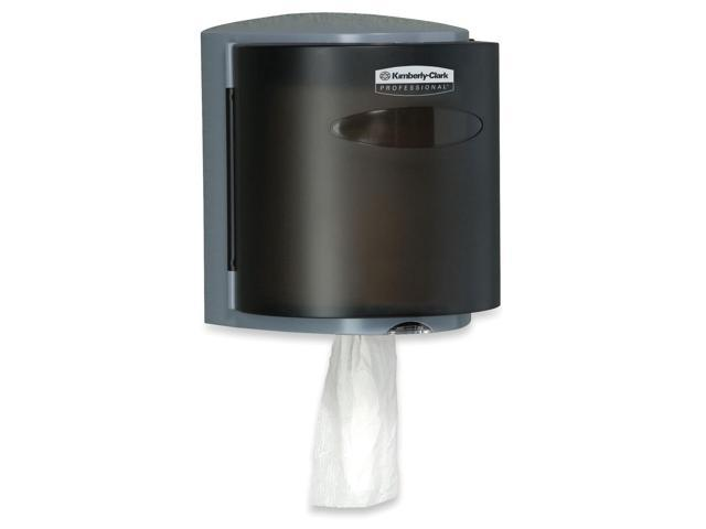 KIMBERLY-CLARK PROFESSIONAL* 09989 IN-SIGHT Roll Control C-Pull Dispenser,10 3/10x9 3/10x11 9/10, Smoke/Gray