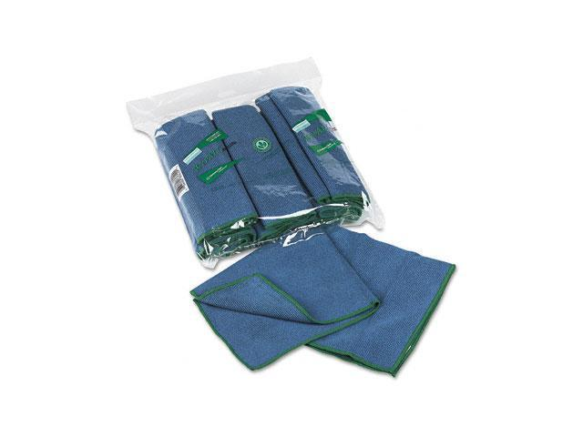 KIMBERLY-CLARK PROFESSIONAL* 83620 WYPALL Cloths w/Microban, Microfiber, 15 3/4 x 15 3/4, Blue, 6/Pack