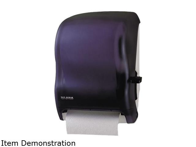 San Jamar T1100TBK Lever Roll Towel Dispenser w/o Transfer Mechanism, Black