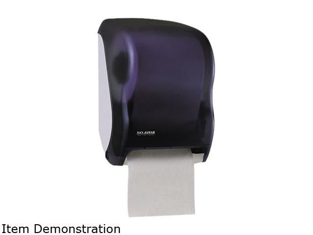San Jamar T1300TBK Electronic Touchless Roll Towel Dispenser, 11 3/4 x 9 x 15 1/2, Black