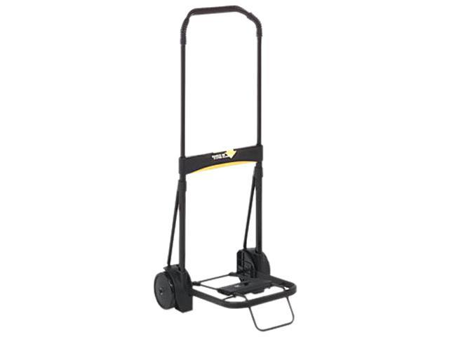 Kantek LGLC200 Ultra-Lite Folding Cart, 200lb Capacity, 11 x 13-1/4 Platform, Black