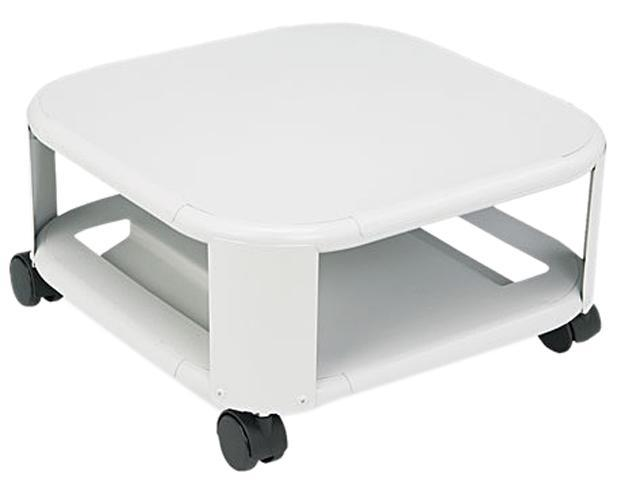 Master 24050 Mobile Printer Stand, 2-Shelf, 17-4/5w x 17-4/5d x 8-1/2h, Platinum
