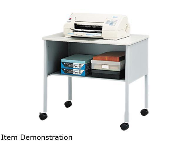 Mayline 2140CAGRYGRY Mobile Machine Stand, 1-Shelf, 30w x 21d x 26½h, Gray