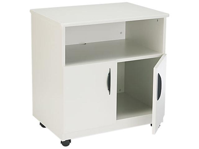 Safco 1850GR Laminate Machine Stand w/Open Compartment, 28-1/8w x 19-3/4d x 30-1/2h, Gray