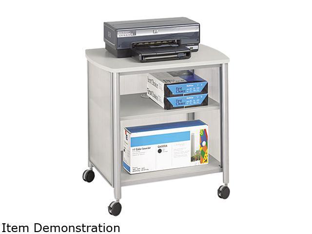 Safco Impromptu Machine Stand, 1-Shelf, 200lbs, 26-1/4 x 19-1/2 x 26-1/4, Silver/Gray
