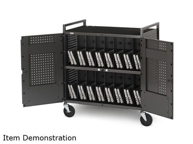 Bretford Basics NETBOOK32 Micro Computer Notebook Storage Cart