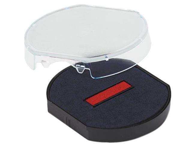 U. S. Stamp & Sign P46140BR Trodat T46140 Dater Replacement Pad, 1-5/8, Red/Blue