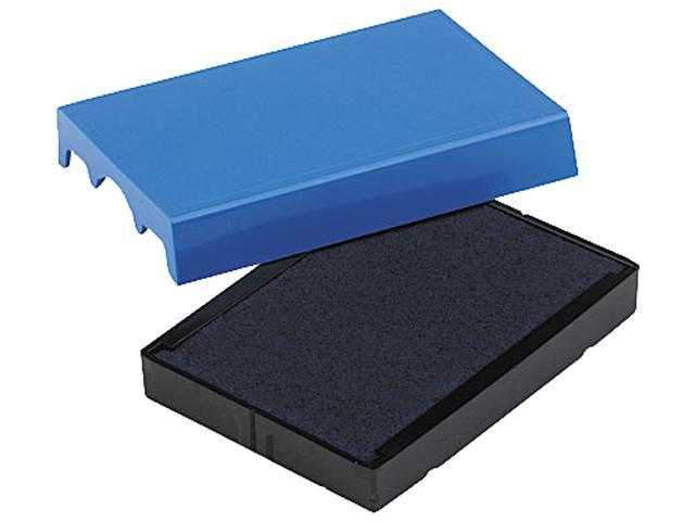 U. S. Stamp & Sign P4729BL Trodat T4729 Dater Replacement Pad, 1-9/16 x 2, Blue