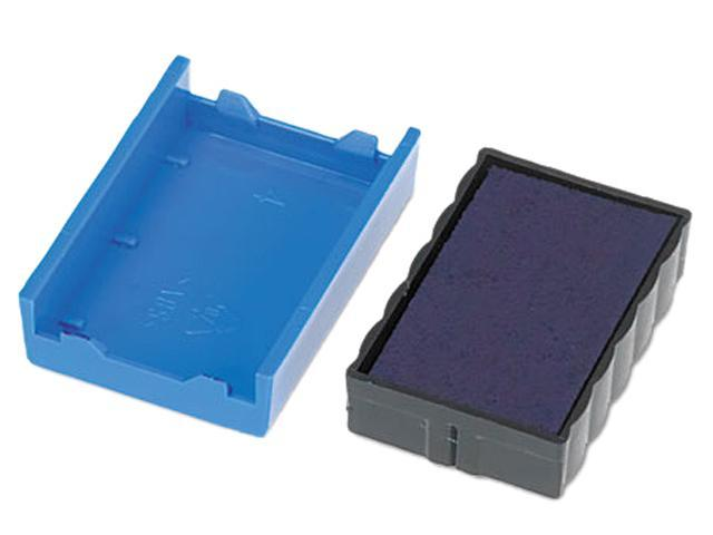 U. S. Stamp & Sign P4850BL Trodat T4850 Dater Replacement Pad, 3/16 x 1, Blue