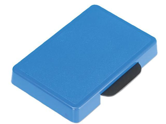 U. S. Stamp & Sign P5460BL Trodat T5460 Dater Replacement Ink Pad, 1-3/8 x 2-3/8, Blue