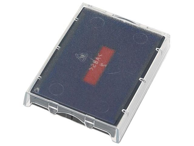 U. S. Stamp & Sign P5470BR T5470 Dater Replacement Ink Pad, 1-5/8 x 2-1/2, Red/Blue