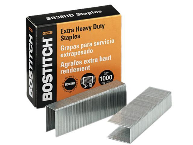 Stanley Bostitch SB38HD-1M Heavy-Duty Staples for B380HD-Blk Auto 180 Stapler, 1,000/Box