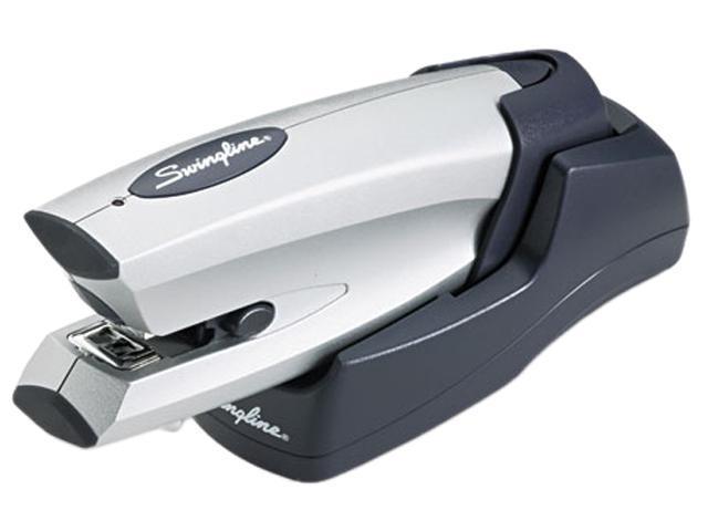 Swingline 48201 Cordless Rechargeable Stapler, 20-Sheet Capacity, Silver