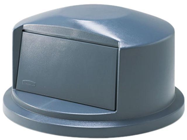 Rubbermaid Commercial 263788GY Brute Dome Top Swing Door Lid for 32-Gallon Waste Containers, Plastic, Gray
