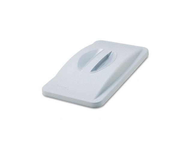 Rubbermaid Commercial                    Slim Jim Handle Top, 20 3/8 x 11 3/8 x 2 3/4, Plastic, Light Gray