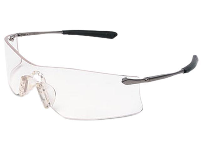 Frameless Safety Glasses : Crews T4110AF Rubicon Frameless Safety Glasses, Silver ...