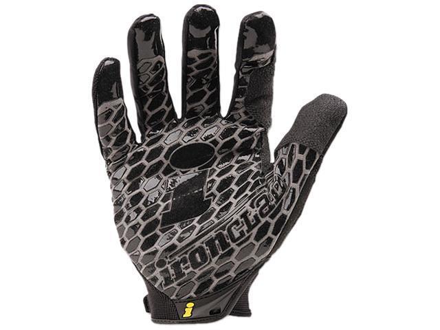 Ironclad BHG-04-L Box Handler Gloves, 1 Pair, Black, Large