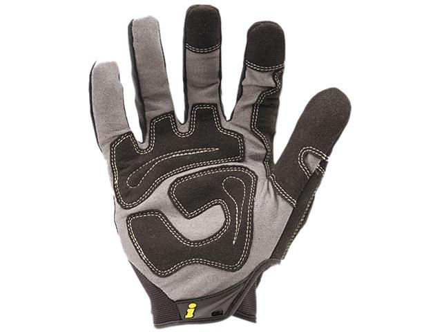 Ironclad GUG-05-XL General Utility Spandex Gloves, 1 Pair, Black, X-Large