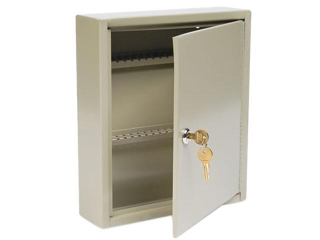 Steelmaster Locking Disc-Tumbler 60-Key Welded Steel Cabinet, 10 5/8w x 3d x 12 1/8h, Sand