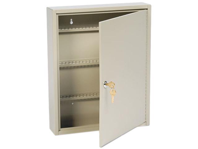 Steelmaster Locking Disc-Tumbler 110-Key Welded Steel Cabinet, 14w x 3 1/8d x 17 1/8h, Sand