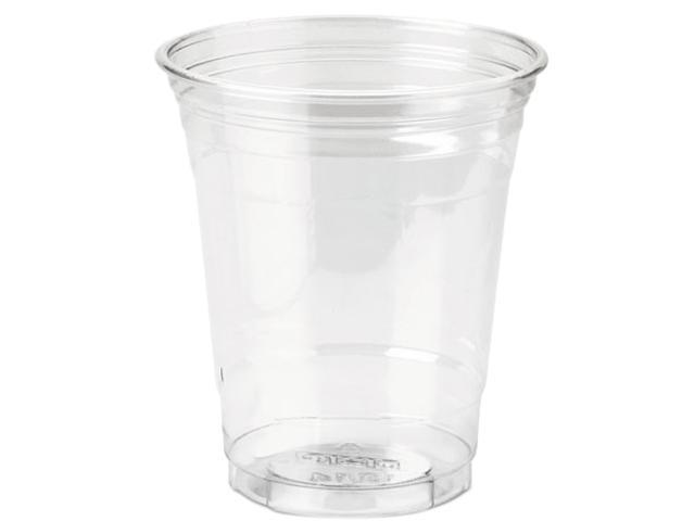 Dixie CP12DX Clear Plastic PETE Cups, Cold, 12 oz., WiseSize Packs, 500/Carton