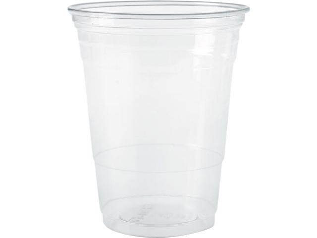 SOLO Cup Company TP10 Plastic Party Cold Cups, 10 oz., Clear, 50/Pack