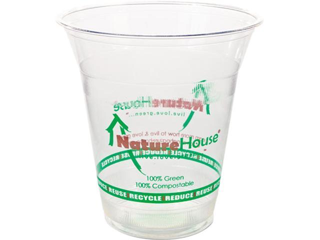 NatureHouse FK03 Plastic Cup, 16 oz, Clear