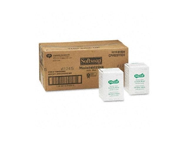 Softsoap 01924CT Moisturizing Soap w/Aloe, Unscented Liquid, Dispenser, 800ml, 12/Carton