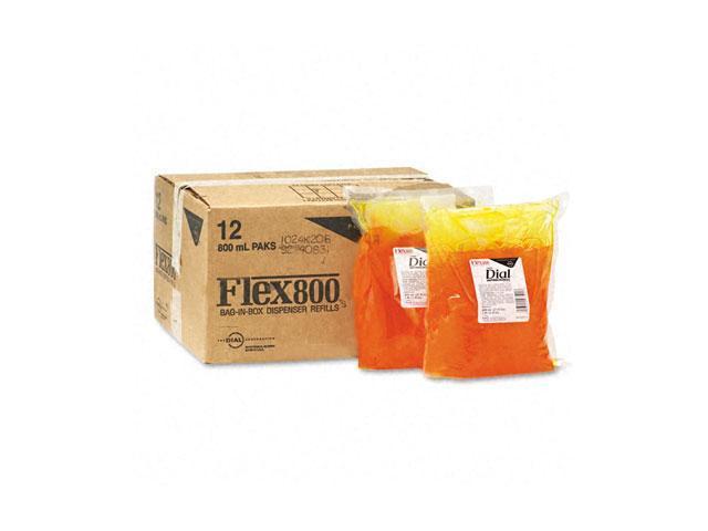 Liquid Dial 97501CT Liquid Dial Gold Soap Refill, Unscented Liquid, Dispenser, 800ml Bag, 12/Carton