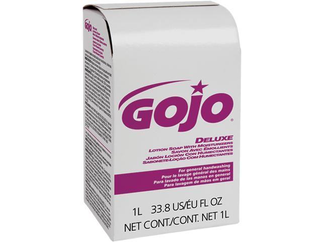 GOJO 2117-08EA NXT Lotion Soap w/Moisturizers Refill, Light Floral Liquid, 1000ml Box