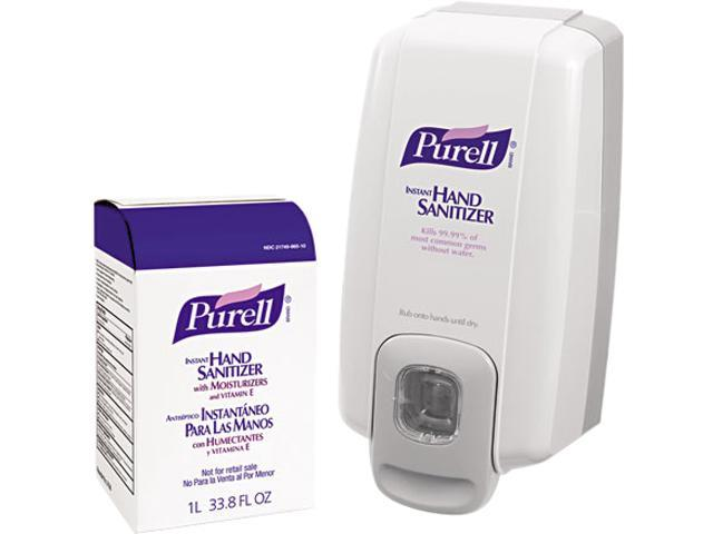 PURELL 2156-D1 NXT SPACE SAVER Hand Sanitizer Dispenser & Refill
