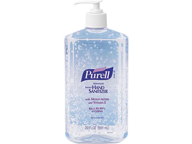 PURELL 3023-12 Hand Sanitizer, 20-oz. Pump Bottle, 12/Carton